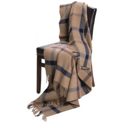 Johnstons of Elgin Recycled Wool Blend Throw Blanket
