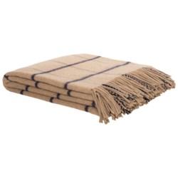 Johnstons of Elgin Recycled Wool Blend Throw Blanket