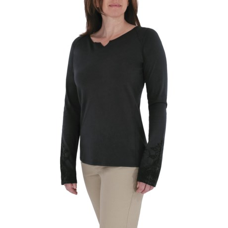 Royal Robbins Lucy Henna Shirt - Organic Cotton, Long Sleeve (For Women)