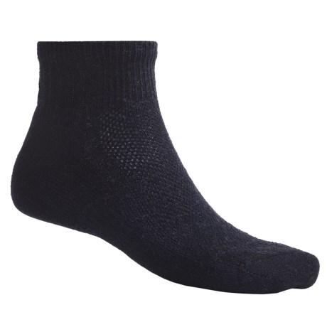 SmartWool Hiking Ultralight Mini Socks - Merino Wool, Quarter-Crew (For Men and Women)