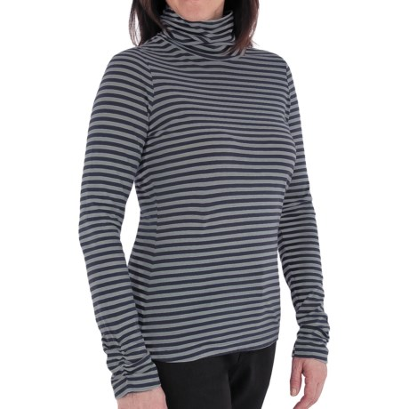 Royal Robbins Lucy Stripe Turtleneck - Organic Cotton, Long Sleeve (For Women)