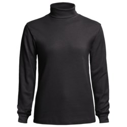 Meister Roll Neck Shirt - Combed Cotton, Long Sleeve (For Women)