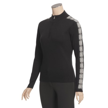 Meister Hilary Sweater - Zip Neck (For Women)