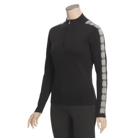 Meister Hilary Sweater - Zip Neck (For Women)
