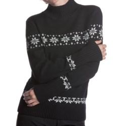 Meister Eva Turtleneck Sweater - Stretch Merino Wool (For Women)