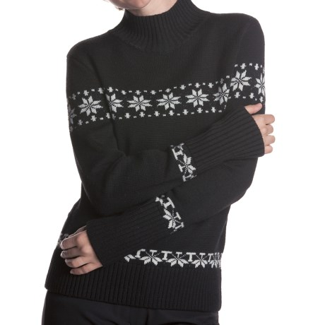 Meister Eva Turtleneck Sweater - Stretch Merino Wool (For Women)