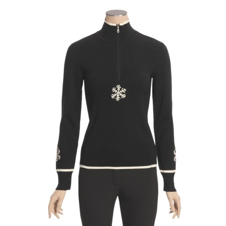Meister Romance Sweater - Zip Neck (For Women)