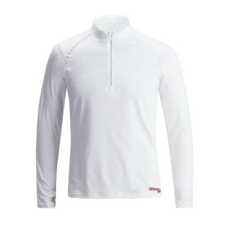 Camaro BFT Rash Guard Shirt - Zip Neck, Long Sleeve (For Men)