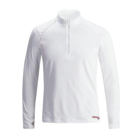 Camaro BFT Rash Guard Shirt - Zip Neck, Long Sleeve (For Men)