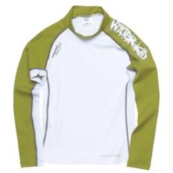 Camaro Waterkid Rash Guard Shirt - UPF 50+, Long Sleeve (For Boys)