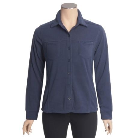 Sportif USA Naomi Shirt - Fleece, Long Sleeve (For Women)