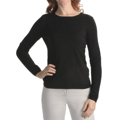 Cullen Cashmere Basic Sweater (For Women)