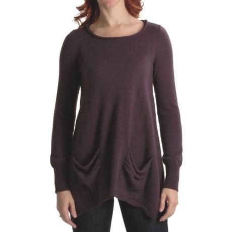 Cullen Handkerchief Tunic Sweater - Cashmere (For Women)