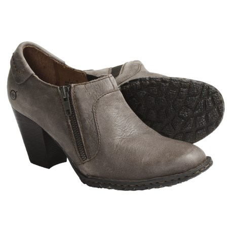 Born Carteret Side Zip Ankle Boots - Leather (For Women)