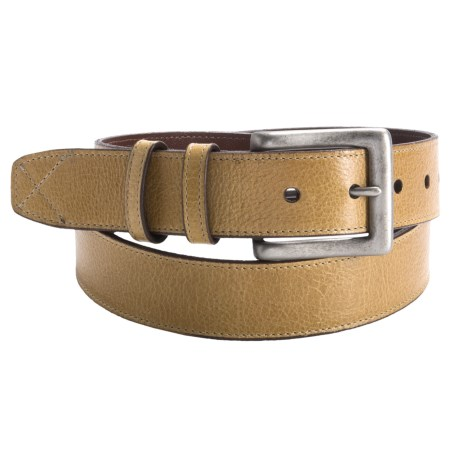 Torino Italian Water Buffalo Leather Belt - 35mm (For Men)