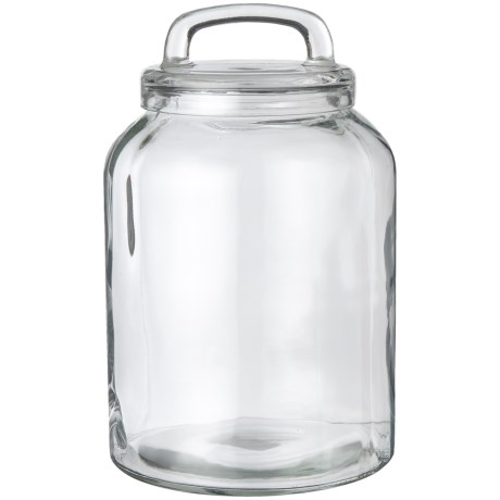 Home Essentials & Beyond Loop Glass Canister - 196 oz.