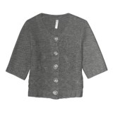 Aventura Clothing Grayson Shrug Sweater - Wool Blend, Elbow Sleeve (For Women)