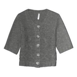 Aventura Clothing Grayson Shrug Sweater - Wool Blend, Elbow Sleeve (For Women)