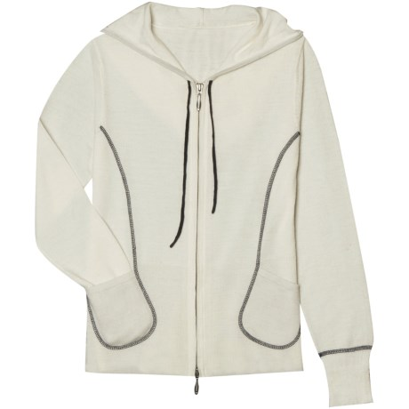 Aventura Clothing Cori Zip Hoodie Sweater - Merino Wool (For Women)