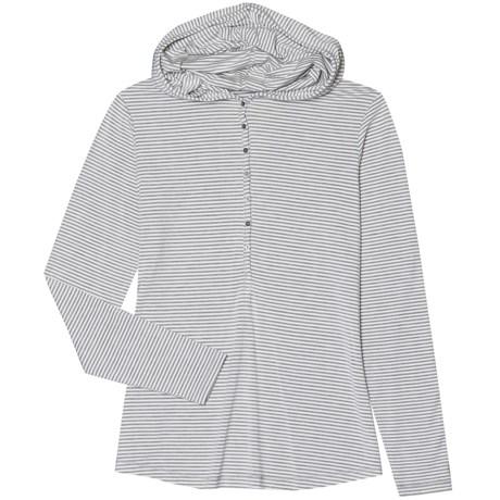 Aventura Clothing Tahoma Hooded Henley Shirt - Long Sleeve (For Women)