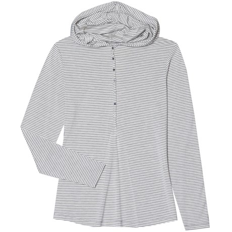 Aventura Clothing Tahoma Hooded Henley Shirt - Long Sleeve (For Women)