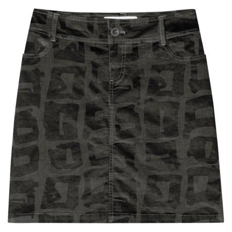 Aventura Clothing Tuleh Corduroy Skirt - Organic Stretch Cotton (For Women)