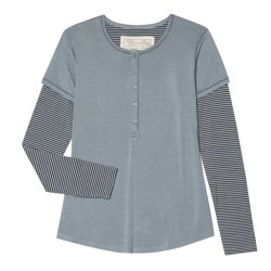 Aventura Clothing Aniston Henley Shirt - Long Sleeve (For Women)