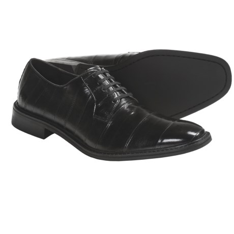Kenneth Cole Style Guide Formal Shoes - Eel Skin Leather, Oxfords (For Men)