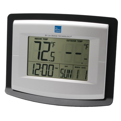 The Weather Channel Wireless Weather Station - Solar-Powered Outdoor Sensor
