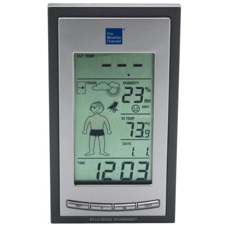 La Crosse Technology The Weather Channel Wireless Forecast Station - Weather Boy Forecast Icons