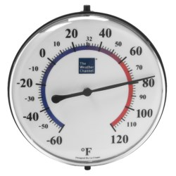 """The Weather Channel 5"""" Bracket Thermometer - Analog"""
