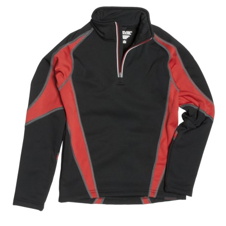 Obermeyer Badger Pullover - Zip Neck (For Boys)