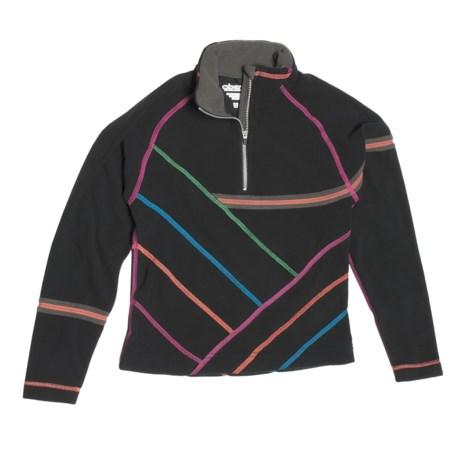 Obermeyer Aliyah Pullover Shirt - Fleece, Zip Neck, Long Sleeve (For Girls)