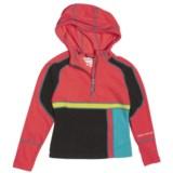 Obermeyer Kirstin Pullover Shirt - Fleece, Zip Neck, Long Sleeve (For Girls)