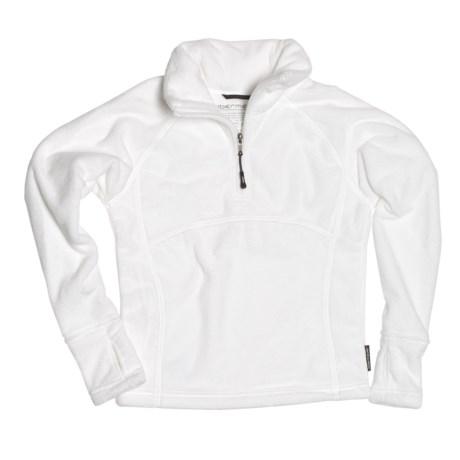 Obermeyer Furry Fleece Pullover Shirt - Zip Neck, Long Sleeve (For Girls)