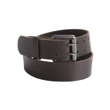 Leather Island by Bill Lavin Double Prong Belt - Leather (For Men)