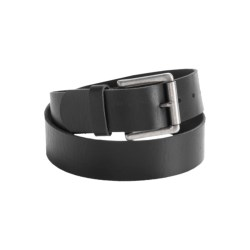 Leather Island by Bill Lavin Leather Belt - Single Prong Square Buckle (For Men)