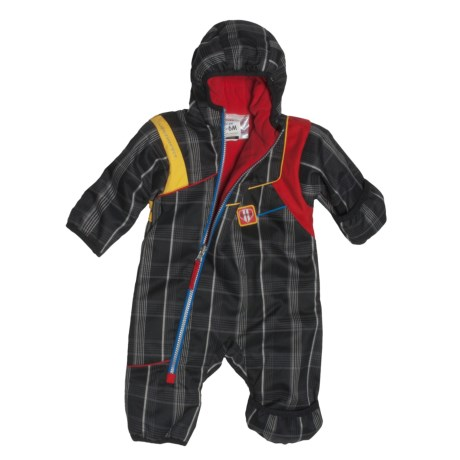 Obermeyer Ricky Bunting - Insulated, Fleece Lining (For Infant Boys)