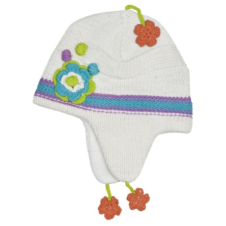 Obermeyer Spice Knit Hat - Ear Flaps (For Little Girls)