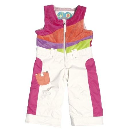 Obermeyer Love Bib Snow Pants - Insulated (For Little Girls)