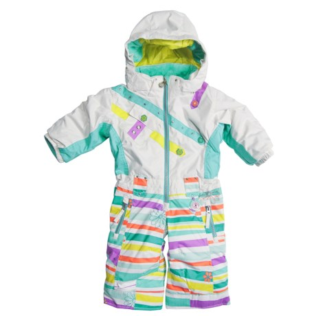 Obermeyer Peace Snow Suit - Insulated (For Little Girls)