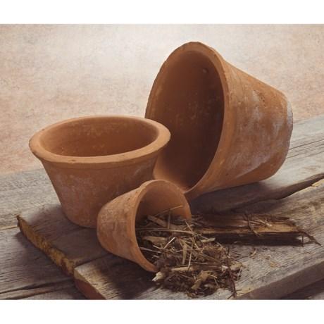Tag Artisan Cottage Planter Pots - Set of 3