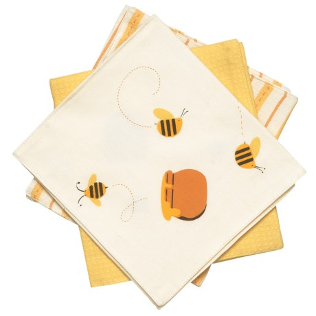 Tag Bizzy Bee Burp Cloths - 3-Pack