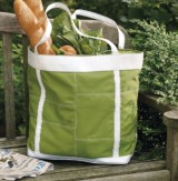 Tag Summertime Patchwork Tote Bag