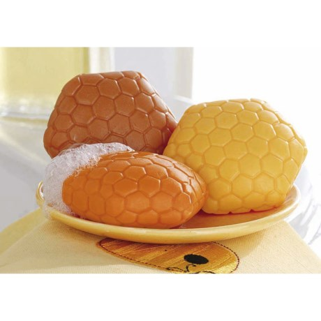 Tag French Milled Honeycomb Soaps - Set of 3