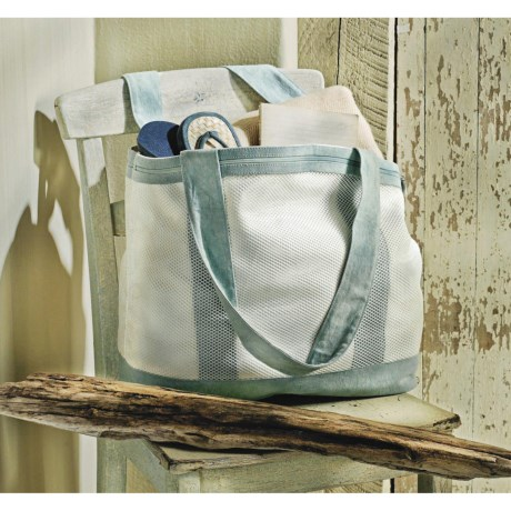 Tag Seaside Canvas Tote Bag