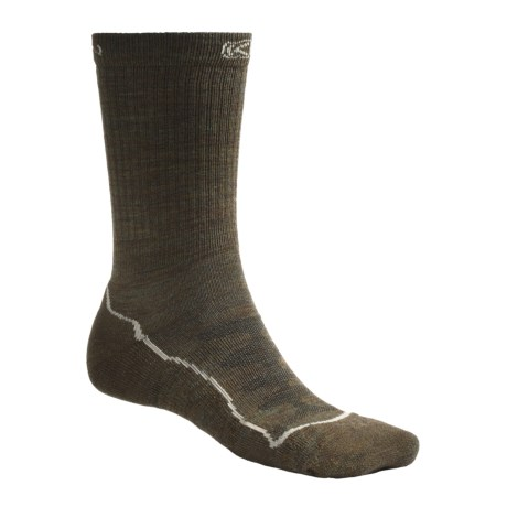 Keen Boulder Canyon Lite Socks - Merino Wool, Crew (For Men)