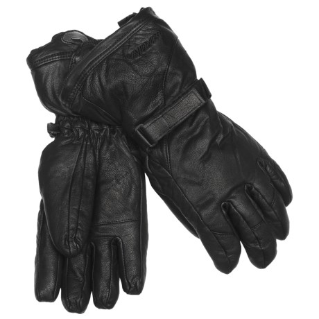 Gordini The Leather Goose II Gloves - Waterproof, 600 Fill Power (For Men)