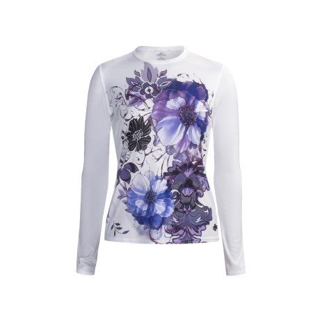 Hot Chillys Peachskins Print Base Layer Top - Midweight, Long Sleeve (For Women)