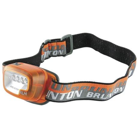 Brunton RL4 LED Headlamp